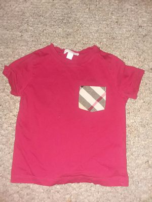 BurBerry shirt 4T for Sale in Fort Meade, MD