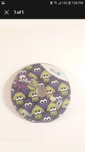 Splatoon (Nintendo Wii U, 2015) *DISC ONLY* SPOTLESS for Sale in Los Angeles, CA