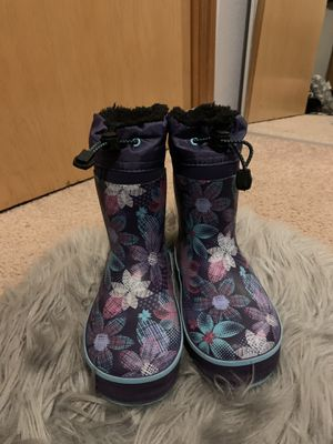 Like new! Little Girl size 11/12 SnowBoots! for Sale in Los Angeles, CA