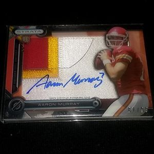 Aaron Murray chiefs football card for Sale, used for sale  Independence, MO