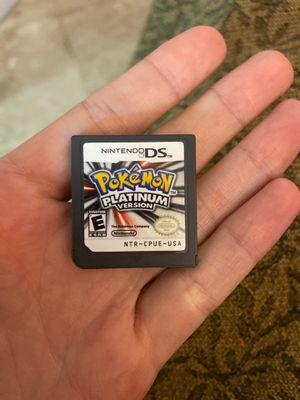 Ds game Pokémon platinum for Sale in Hialeah, FL
