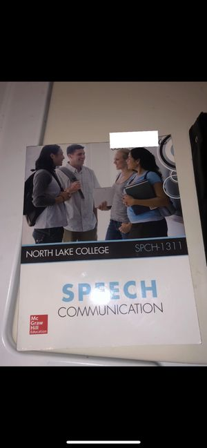 North Lake College/ TextBook/ Speech for Sale in Grand Prairie, TX