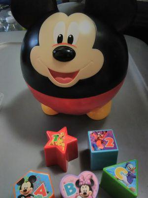 Mickey Shape sorter for Sale in Barrington, IL