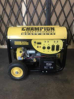 Champion generator for Sale in Houston, TX