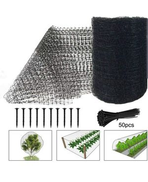 6.8ft X 65ft Anti Bird Netting, Pond Net with 50pcs Cable Ties - Protect Your Garden Vegetables Fruit Plants Ponds for Sale in Torrance, CA