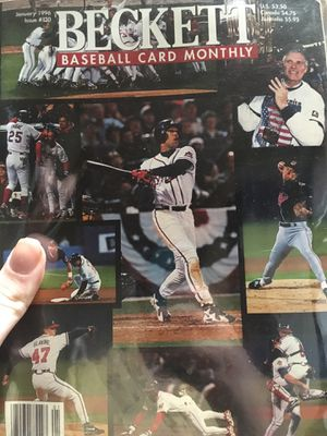 Beckett Baseball card monthly issue 130 for Sale in Joelton, TN