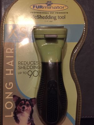 Furminator deshedding tool for dogs and cats$10 for Sale in Wichita, KS