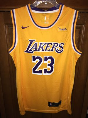 Lebron James Lakers jersey yellow for Sale in Miami, FL