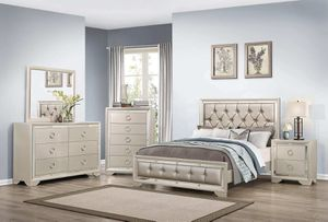 WE ARE OPEN! BEAUTIFUL JASMINE BEDROOM SET! NO CREDIT CHECK FINANCING! for Sale in Tampa, FL