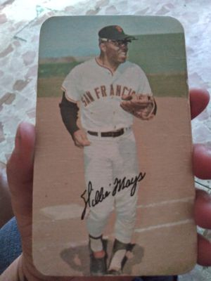 Willy mays baseball card for Sale in San Antonio, TX