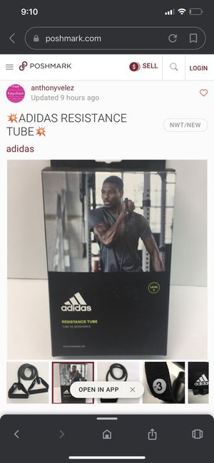 Adidas resistance tube for Sale in Linden, NJ