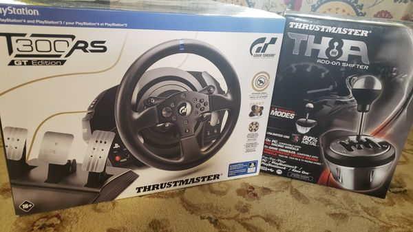Thrustmaster T300 GT RS + TH8A Shifter