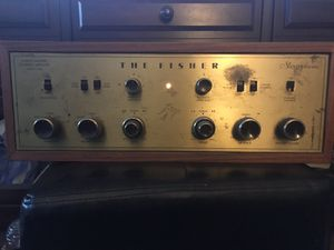 Fisher tube amp model X-100, (350.00). B&W 685 speakers,(250.00) for Sale in Spring Valley, CA