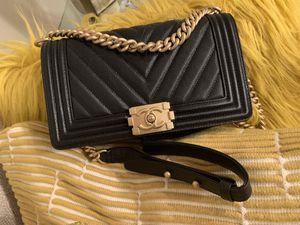 Chanel chevron medium boy bag new for Sale in Cambridge, MA