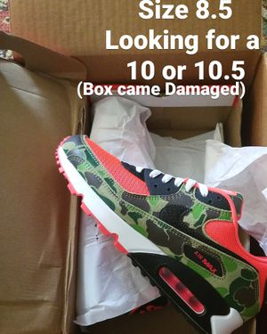 Nike air max duck camo for Sale in Columbus, OH