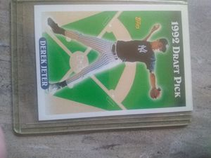 1993 Topps baseball cards complete set Derek Jeter rookie for Sale in Brooklyn, NY