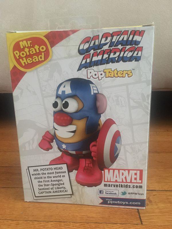 Marvel Mr. Potato Head Captain America Pop Taters
