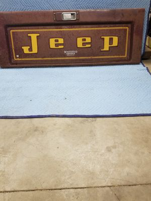 Jeep Truck Tail Gate for Sale in Dunkerton, IA