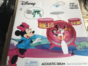 Minnie Mouse Acoustic Drum Set for Sale in Murfreesboro, TN