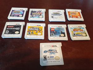 Nintendo 3DS GAMES.. ALL GAMES ARE DIFFERENT PRICES for Sale in Fresno, CA