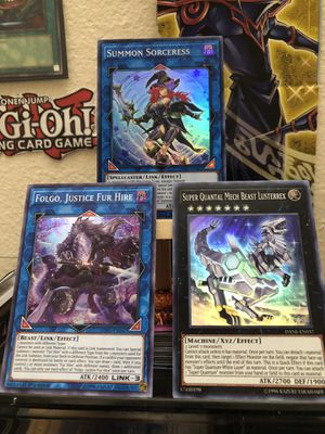 Yugioh cards brand new pack fresh for Sale in Blacksburg, VA