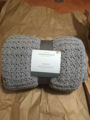 Two Threshold Throw Blanket for Sale in Phoenix, AZ