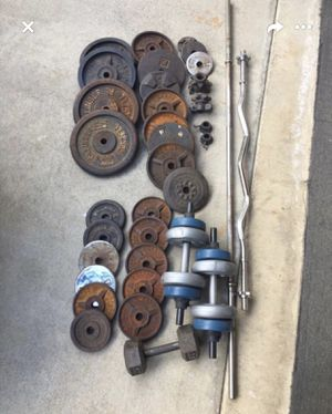 Weights with bench for Sale in Walnut, CA