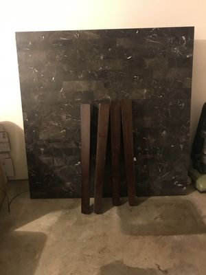 Solid Granite Top Dining Room Table for Sale in Hughson, CA