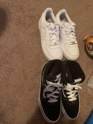 Vans size 5.0 / Air Force 1s size 5Y $35!each both for $60 for Sale in Forestville, MD