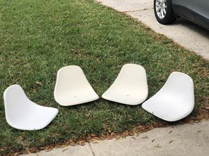 4 fiberglass boat seats for Sale in Orlando, FL
