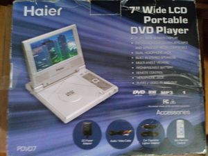 Portable DVD player for car also for Sale in St. Louis, MO