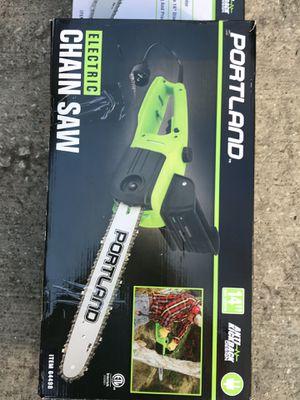 """Portland 14"""" Electric Chainsaw for Sale in Dallas, TX"""