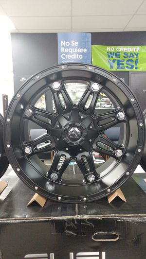 20x10 Fuel Hostage D531 8x170 Ford F250 F350 for Sale in Tacoma, WA