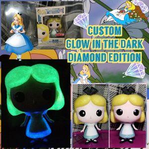 Funko Pop, Custom Glow & Diamond Alice for Sale in Adamstown, MD