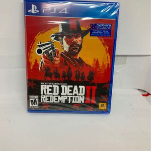 ( New) PS4 - Red Dead Redemption 2 for Sale in Oak Park, IL