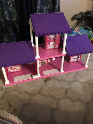 Girls large size doll house brand new for Sale in Antioch, CA