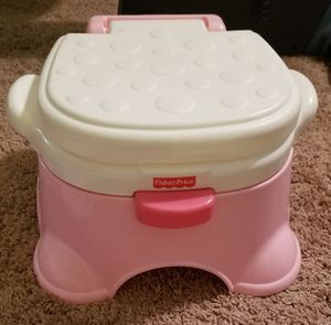 Fisher Price Potty and Stepping Stool for Sale in Norcross, GA