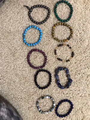 Authentic gem bracelets for Sale in Huntington Beach, CA