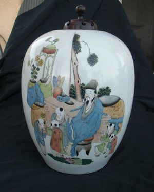 Chinese antique porcelain bottles, works of famous painter for Sale in Lake Elsinore, CA