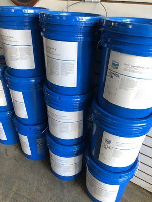 5 gallons chevron 15 w40 diesel heavy duty oil for Sale in Stockton, CA