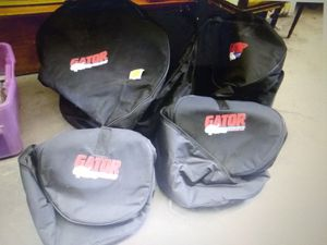 Gator Padded Drum Bags 4pc for Sale in CTY OF CMMRCE, CA
