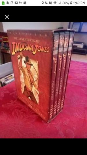 Indiana Jones Boxed dvd set for Sale in Lincolnwood, IL