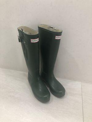 Hunter Green tall rain boots for Sale in Miami, FL