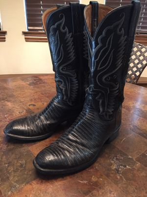 Lucchese lizard cowboy boots for Sale in Frisco, TX