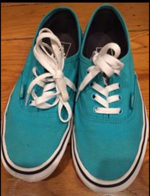 Teal Vans - Size 6.5 Women's for Sale in San Leandro, CA