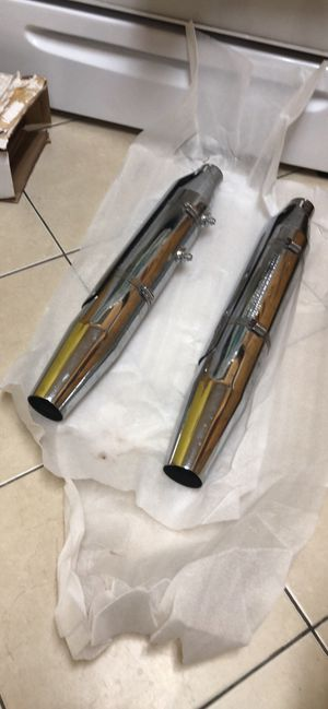 Slip on mufflers - motorcycle - Harley Davidson for Sale in East Meadow, NY