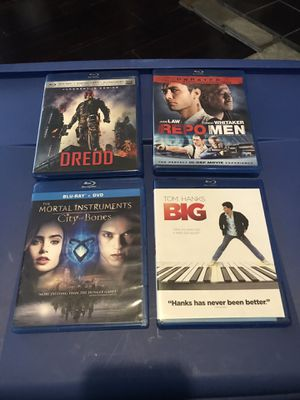 Blue ray dvds for Sale in Clinton, TN