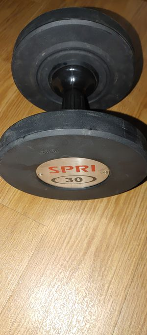 SPRI 30LB SINGLE DUMBBELL for Sale in Fresno, CA