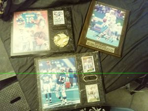Dan Marino plaques and baseball cards for Sale in Winter Haven, FL