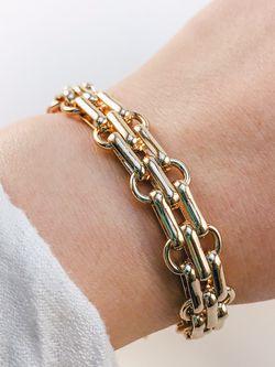 Gold Link Bracelet for Sale in Ashburn,  VA